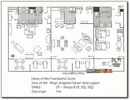presidential suite at disney u0027s contemporary resort tower club