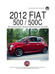 fiat500usa fiat 500 accessories automotive technologies transport