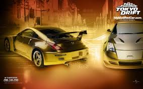 nissan 350z wallpaper fast u0026 furious tokyo drift movie wallpapers collection