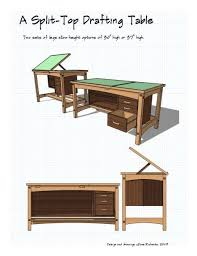 Drafting Table Plans Woodworking Drafting Table Plans Apartment Woodwork Designs