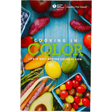 Color by Cooking In Color Magazine Cookbook Aha Shop Heart
