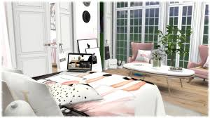 fashion bedroom the sims 4 speed build fashion lovers bedroom cc links youtube