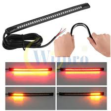 Led Strip Tail Lights by Amazon Com Wiipro Universal Led Harley Davidson Light Strip Tail