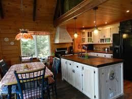 cuisine aire ouverte le chalet ouareau chalets appartements résidences de tourisme