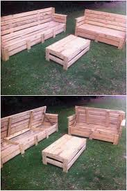 Pallet Furniture Patio by 188 Best Pallet Outdoor Furniture Images On Pinterest Pallet