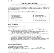 Restaurant Manager Resume Samples by Resume Hotel Manager Hospitality Manager Resume Sample Contegri