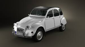 citroen 2cv 360 view of citroen 2cv 3d model hum3d store