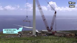 wind turbine construction in 100 seconds time lapse youtube