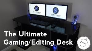 The Best Computer Desk How To Build The Best Gaming Editing Desk For Cheap