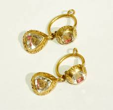 gold earrings for marriage rowan and rowan earring 1204