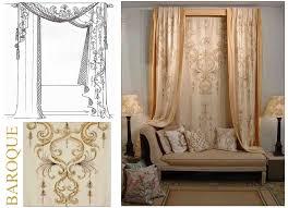 bery designs hand painted fabrics baroque шторы гардины