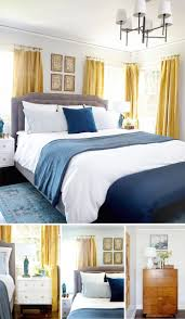 gray yellow and blue bedroom ideas home design