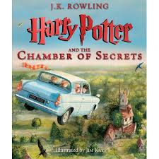 harry potter chamber secrets illustrated edition