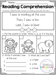 best 25 kindergarten reading comprehension ideas on pinterest
