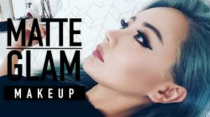 matte glam makeup tutorial for hooded eyes chocolate bar palette tutorial wengie you