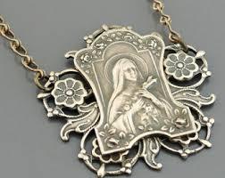 catholic necklaces catholic jewelry etsy