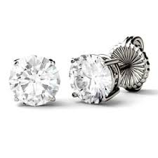 moissanite earrings moissanite earrings for less overstock