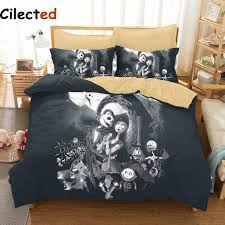 Christmas Duvet Set Cilected 3d Nightmare Before Christmas Bedding Set Sanding Bedding