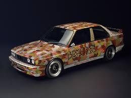 Bmw M3 1989 - bmw art car 07 michael jagamara nelson australia 1989 bmw m3