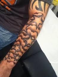 half sleeve cloud w quote tattoos tatting