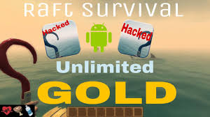 raft survival how to get unlimited gold supplies and cool houses