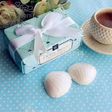 soap party favors free shipping 50sets seashell soap gifts engagement