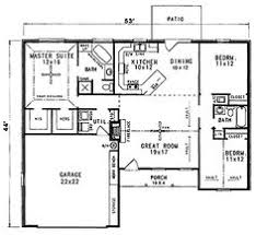 not too big house plans house plans