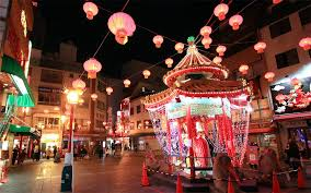 new year festival at nankin machi hyogo