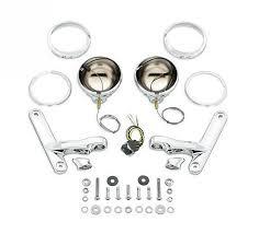 harley davidson auxiliary lighting kit harley davidson custom auxiliary lighting bracket kit 69818 06