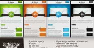 create email newsletter template free and premium email newsletter templates and layouts designmodo
