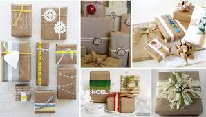 rustic christmas wrapping paper 50 amazing christmas wrapping ideas curious kid