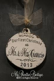 custom glass ornament with the saying because someone