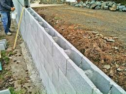 Concrete Block Retaining Wall Design Home Design Ideas Inexpensive - Retaining wall designs ideas