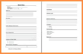 blank sample resume blank resume template word printable sample