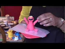 sesame cake toppers fondant gumpaste figures or cake toppers sesame part 1