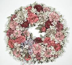 beautiful wreaths crafted with fresh cut fir and pine boughs at