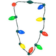 christmas light necklace light bulb christmas light bulb necklace it will you glowing