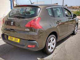 peugeot cars for sale second hand second hand peugeot 3008 rhd for sale san javier murcia