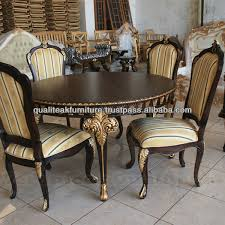 antique gold dining room set antique gold dining room set