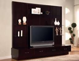 Wall Design For Hall by Furniture Lcd Wall Unit Designs For Hall Living Room With Cabinet