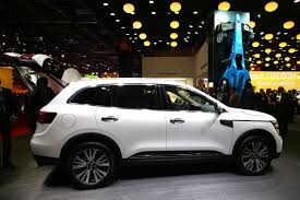 renault koleos 2016 black renault premiere of all new koleos and koleos initiale paris