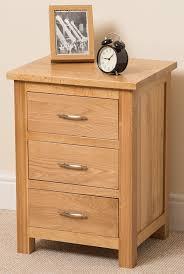 boston solid oak 1 drawer 1 door bedroom bedside table cabinet