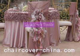 ruffled chair covers livia event textile co ltd