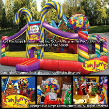party rental mn candy playland slide combominnesota party rental