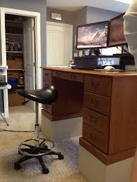 Standing Desk Chair Ikea by Standing Desk Setup U2013 Ergonomic Standing Desk Setup Ikea Standing