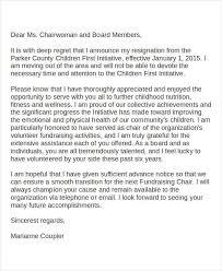 board member resignation letter sample board member resignation