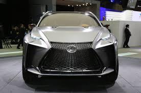 lexus first turbo lexus lf nx turbo concept hits the 2013 tokyo motor show floor