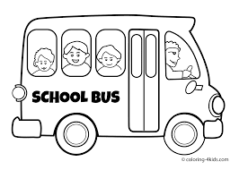 printable 29 preschool coloring pages 8073 bus