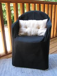 black resin chair organic slipcover hemp cotton outdoor furniture