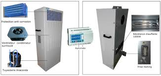 electrical cabinet air conditioner redundant air conditioning for telecom shelter